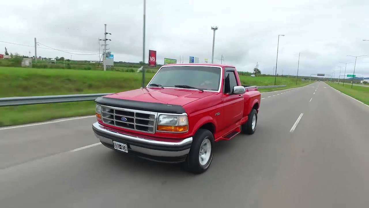 Ford F 150 Flare Side 1995 Youtube