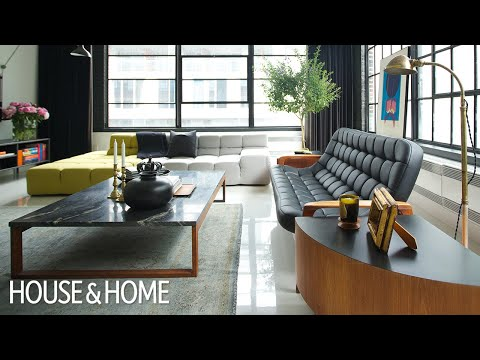 Interior Design — A High-Contrast Montreal Loft