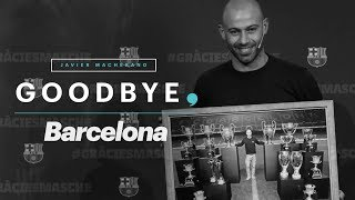 Javier Mascherano Says Goodbye to Barcelona in an Interview with Gerard Piqué