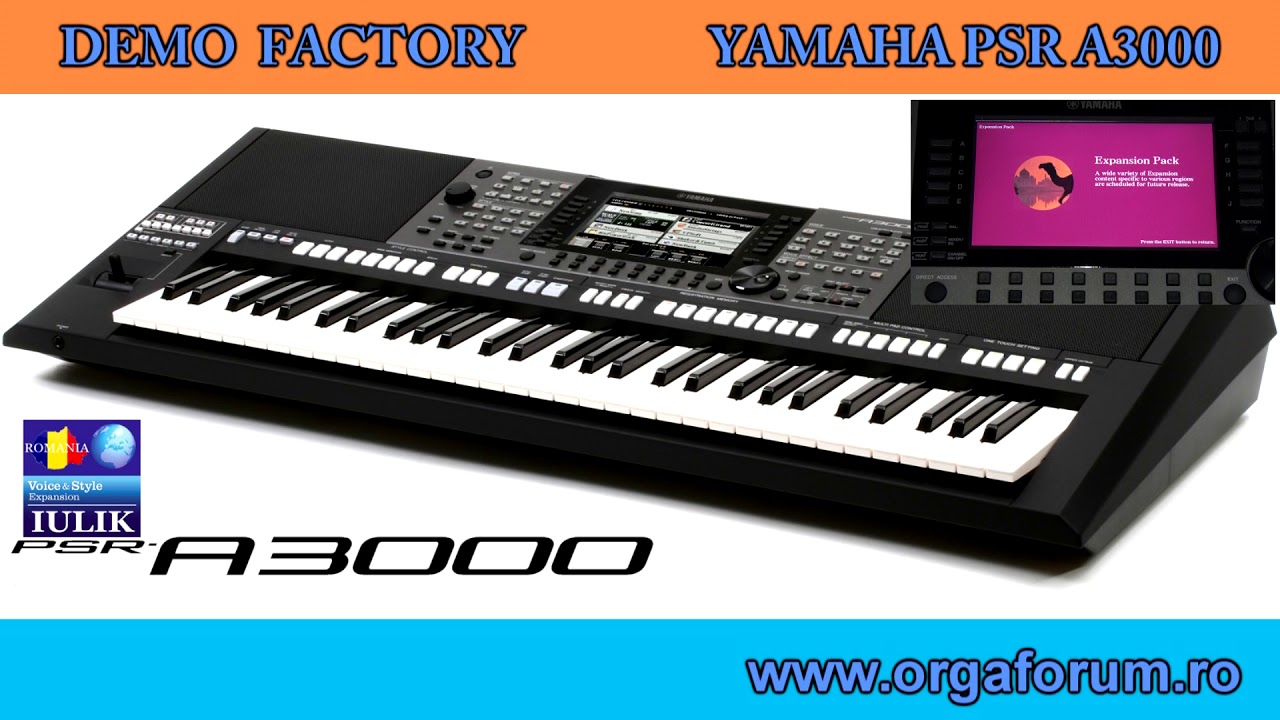 expansion pack yamaha a3000