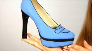 Женские туфли на высоком каблуке S436 C39