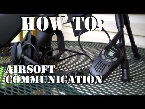 Airsoft Comms System
