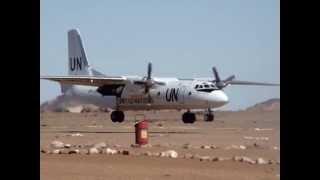 Antonof  landing in western sahara