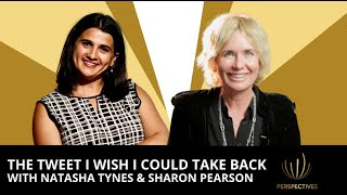 The Tweet I Wish I Could Take Back with Natasha Tynes | #Perspectives podcast with Sharon Pearson