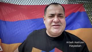 Artash Asatryan - Hayastan Artsakh #ՀԱՂԹԵԼՈՒԵՆՔ 2020