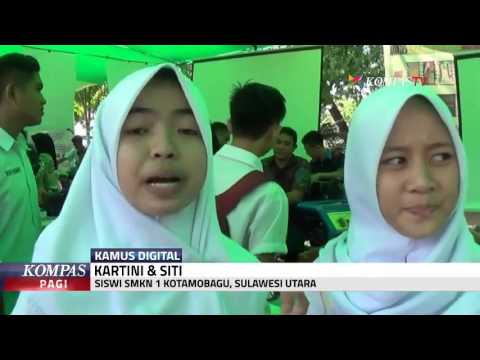 2 Siswa Buat Kamus Digital Bahasa Daerah