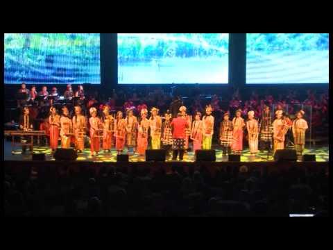 Lagu Bengawan Solo - Angklung Performance