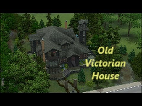 sims 3 - beautiful old victorian house - youtube