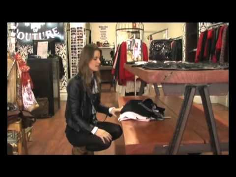 visual merchandising side table display youtube. Black Bedroom Furniture Sets. Home Design Ideas