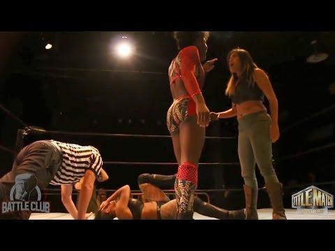 3-Way Women's Match - Vanity vs Katred vs MJ Jenkins - Battle Club Pro