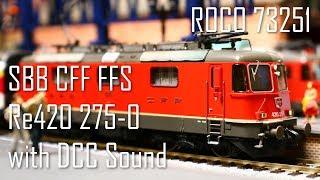 【鉄道模型】スイス連邦鉄道 Re420 電気機関車 + DCCサウンド【SBB/CFF/FFS】