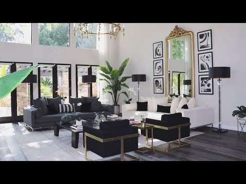 MY LIVING ROOM TOUR | BEFORE & AFTER- CHRISSPY thumbnail