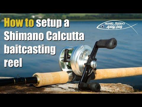 Shimano Calcutta  - casting brake setup guide