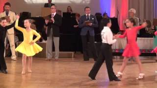 Michael and Emma 2012 Embassy Dancesport Kid's Ballroom Dance Competition