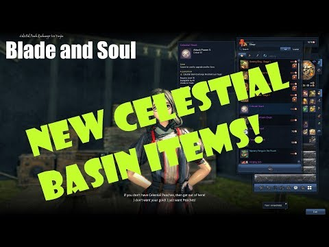 Blade and Soul New Celestial Basin Items: 5 Bonus AP!
