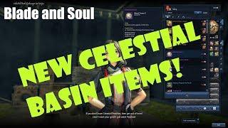 [Blade and Soul] New Celestial Basin Items: 5 Bonus AP!