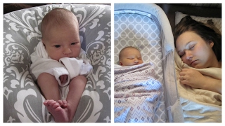 Our first week with Claire - Newborn's first week! Baby has a sad cry :(
