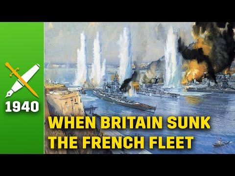 Mers El Kebir 1940: When Britain Blew Up The French Fleet