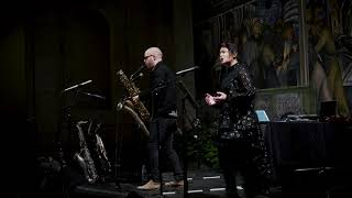 Reach – Nick Zoulek, bass saxophone;  Jocelyn Zelasko, soprano