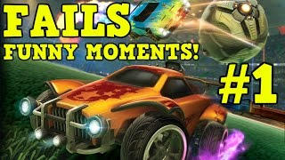 Rocket League FAILS & FUNNY MOMENTS! Subscribers Compilation #1