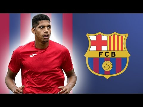 RONALD ARAUJO | Welcome To Barcelona | Defensive Skills & Passing | 2018 (HD)