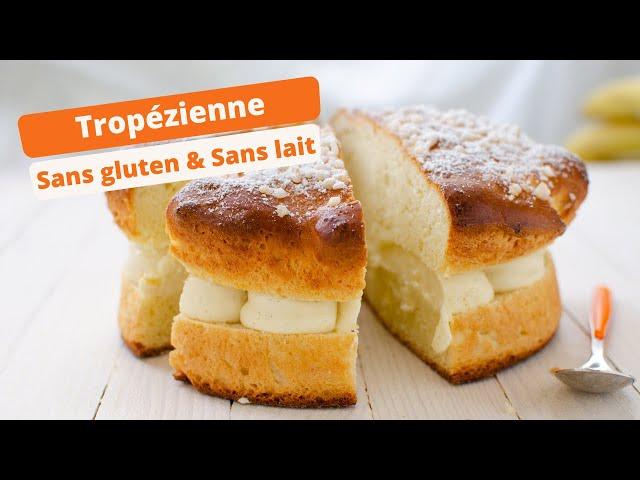 ☀️ Recette de brioche tropézienne sans gluten ☀️