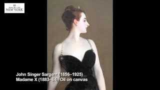 Madame X, Metropolitan Museum of Art Guided Tour - Walks Of New York