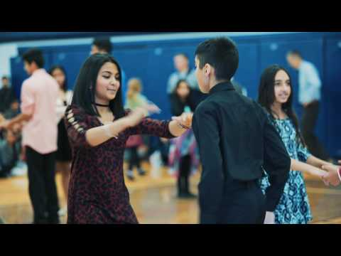 Ballroom at School: Sir Wilfrid Laurier School: January 2017