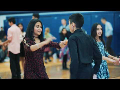 Ballroom at School: Sir Wilfrid Laurier School: January 2017