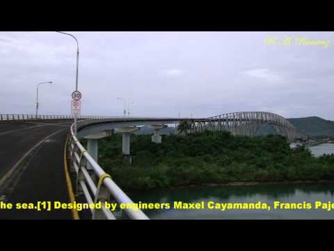 Jogging around San Juanico Bridge February 20, 2011