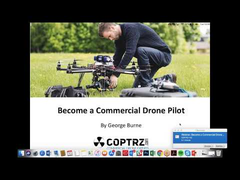 Webinar: Become a Commercial Drone Pilot