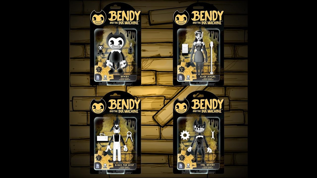 auténtico 2019 mejor venta Super descuento proximamente figuras de acción oficiales de Bendy and the ink machine