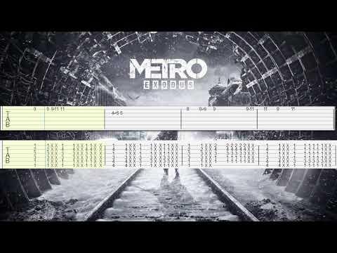 Dawn Of Hope // Metro Exodus // tabs for two guitars