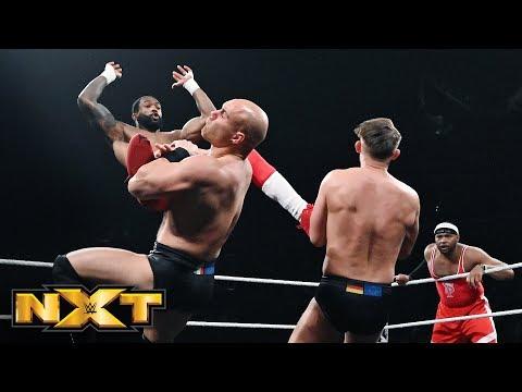 Street Profits vs. Fabian Aichner & Marcel Barthel: WWE NXT, April 10, 2019