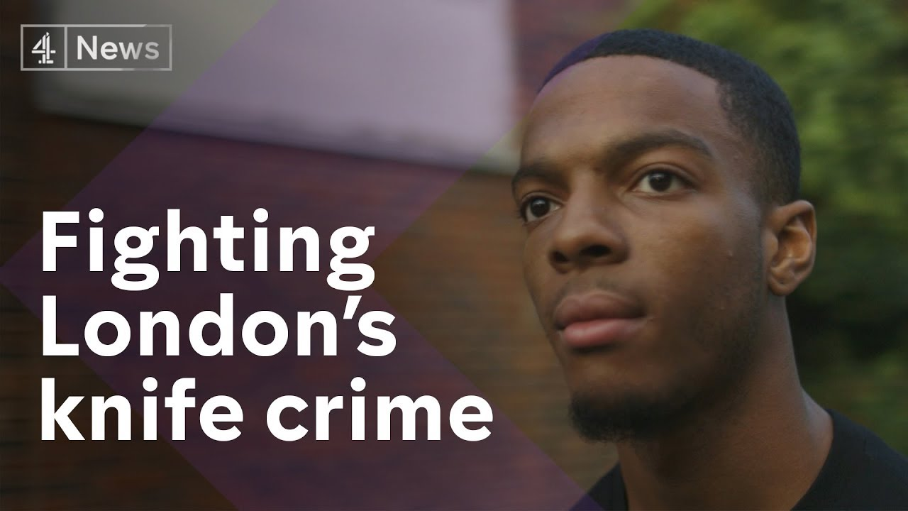 The stabbing victim on a mission to end violence in London