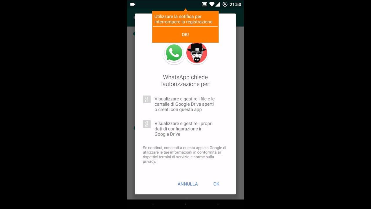 Backup Drive Whatsapp