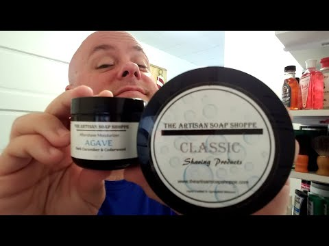 Agave by the Artisan Soap Shoppe shave soap review