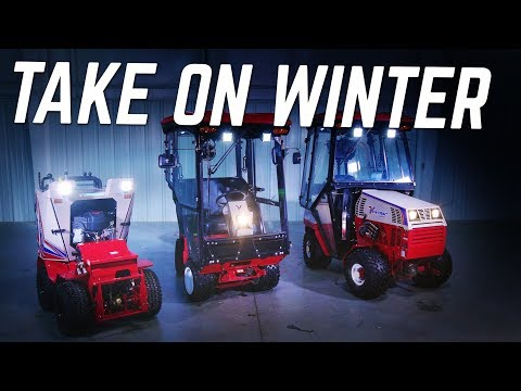 Ventrac Sidewalk Snow Tractors For Any Storm