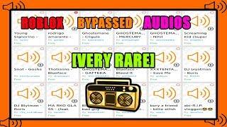 Roblox BYPASSED áudios [RARE] 2019
