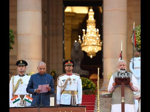 Swearing-in-Ceremony of Prime Minister Narendra Modi at Rashtrapati Bhavan