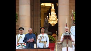 Swearing-in-Ceremony of Prime Minister Narendra Modi at Rashtrapati Bhavan