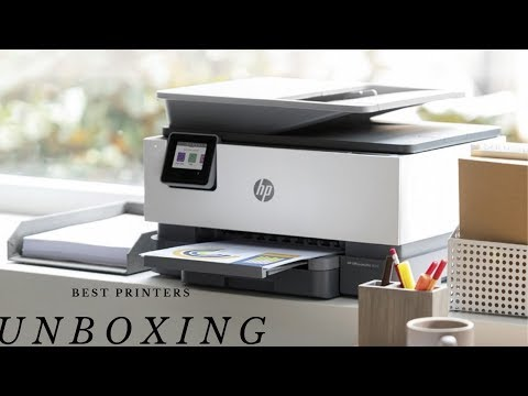Hp Officejet Pro 9015 - Unboxing , Setup and Review