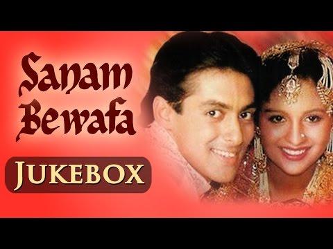 Salman Khan Hits (HD)- Sanam Bewafa - All songs - Jukebox| Salman & Chandini - Evergreen Hindi Hits