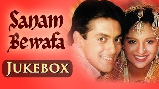 Salman Khan Hits - Sanam Bewafa - All songs - Jukebox | Salman & Chandini - Evergreen Hindi Hits