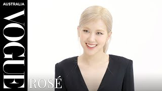 Vogue quizzes Blackpink's Rosé | Celebrity Interview | Vogue Australia