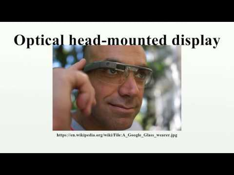 Optical head-mounted display