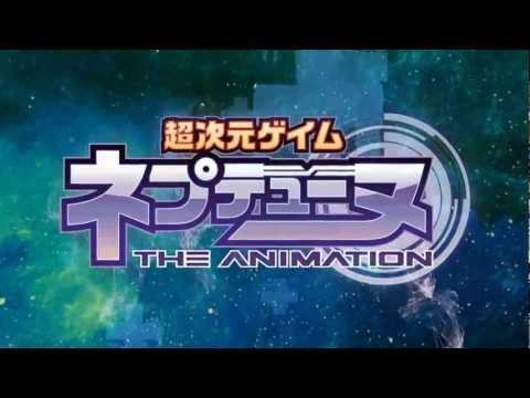 [Anime PV] Hyperdimension Neptunia The Animation PV 1
