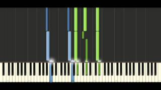 Chopin - Prelude Op. 28 No. 20 - Piano Tutorial - Synthesia