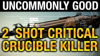 Destiny - XERXES-C 2 Shot Kill MONSTER - Destiny Best Crucible Heavy Machine Gun ?