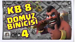 Clash of Clans - KB 8'de Yaban Domuzu Binicisi Saldırısı